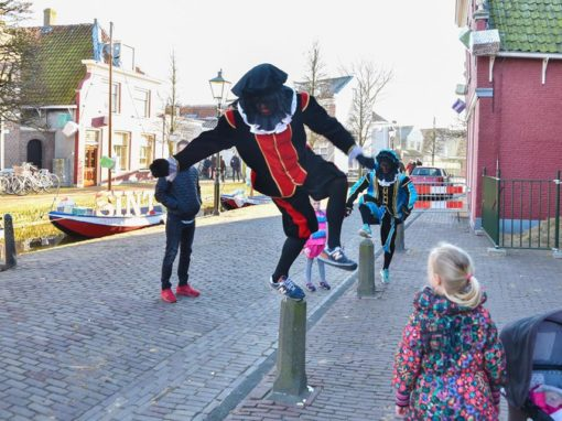 Sinterklaasspeurtocht tijdens Sinthuis Maasland